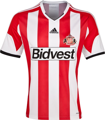 sunderland (home) - new premier league jerseys 2013