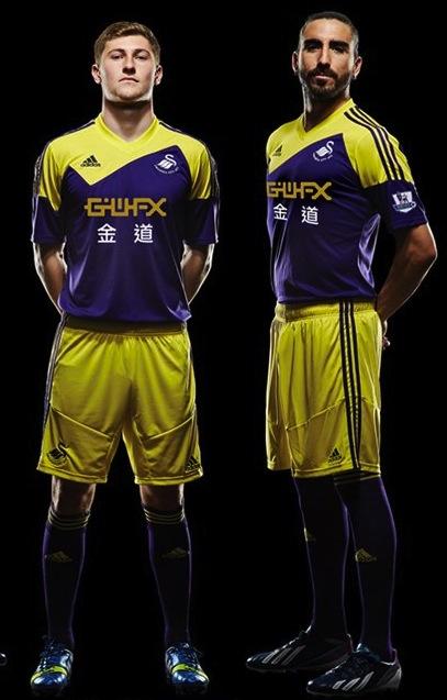 swansea (away) - new premier league jerseys 2013