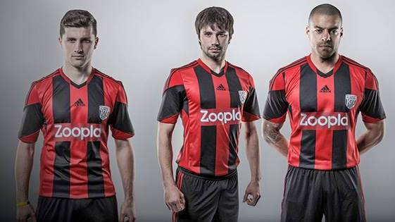 west brom (away) - new premier league jerseys 2013