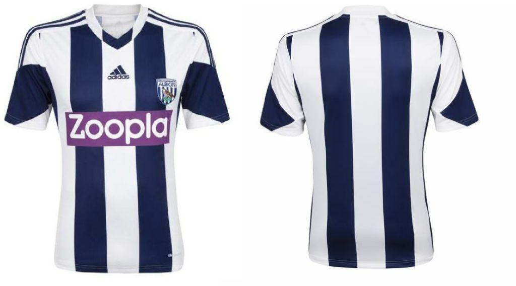 west brom (home) - new premier league jerseys 2013