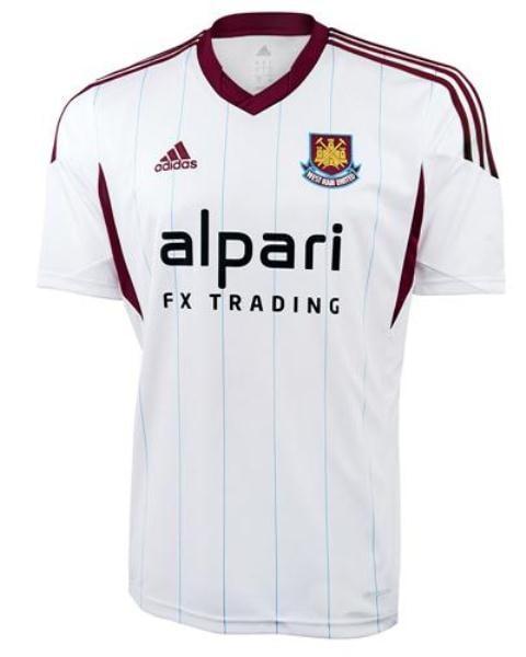 west ham (away) - new premier league jerseys 2013