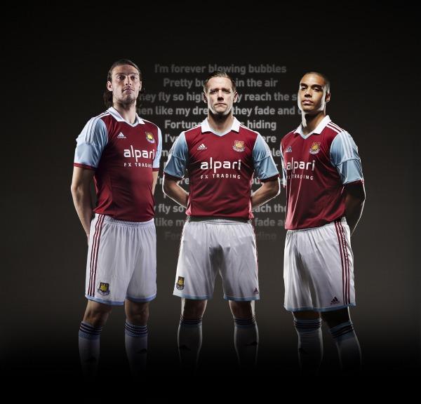 west ham (home) - new premier league jerseys 2013