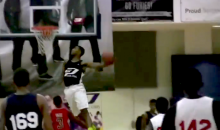 Here's a Video of a Pretty Typical Windmill Dunk…Performed by a 7th Grader (Video)