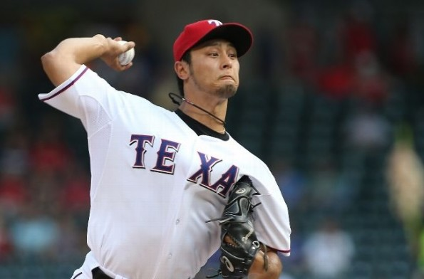 yu darvish vs diamondbacks