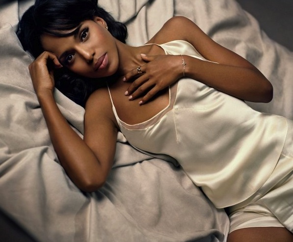 1 Kerry Washington (Nnamdi Asomugha) - NFL WAGs 2013