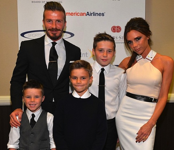 1 david beckham and victoria beckham posh spice - athlete celebrity couples