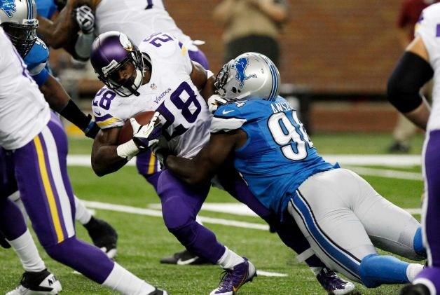 10 adrian peterson tackled - nfl week 1 surprises