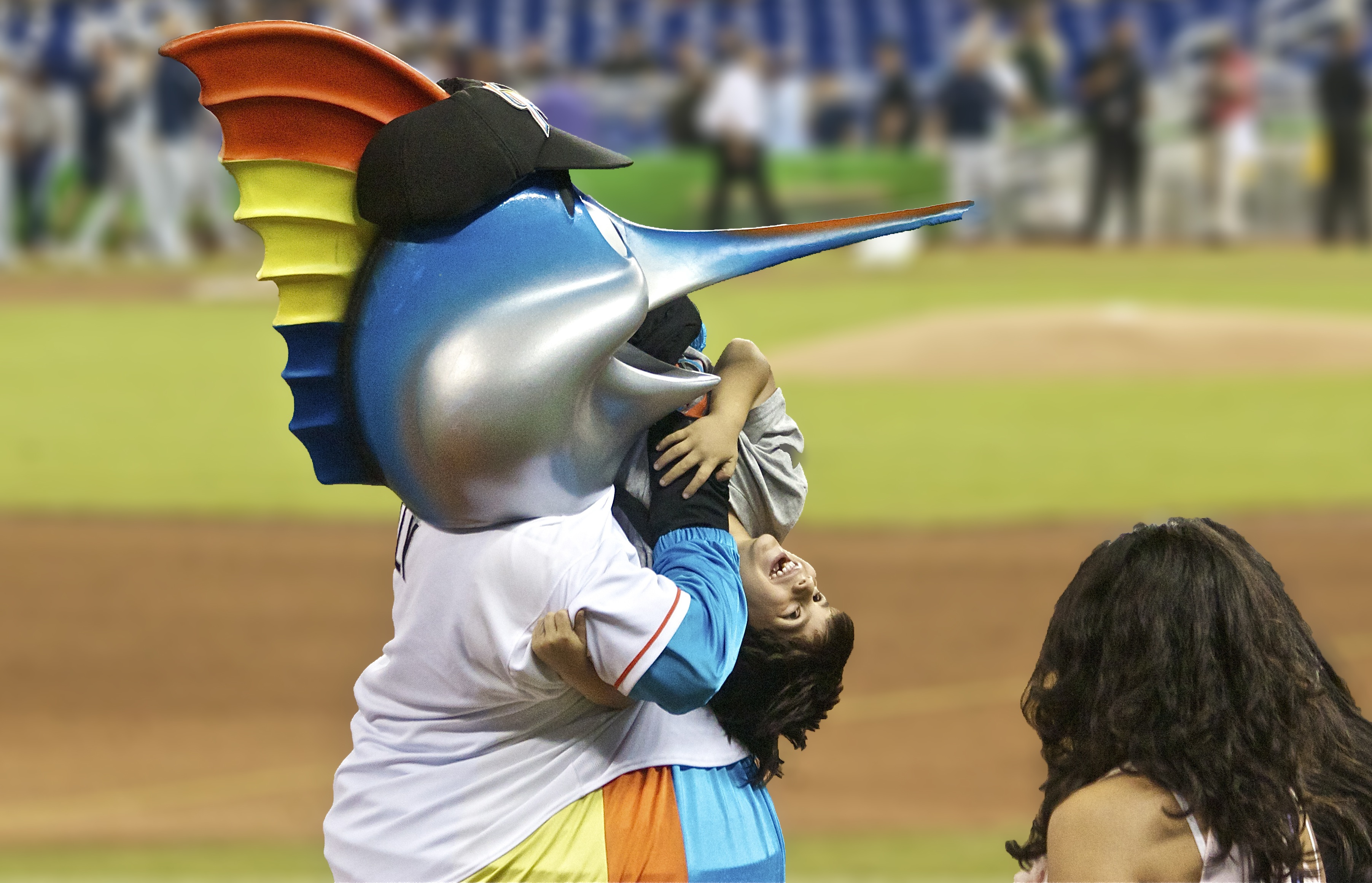 Billy The Marlin Disturbing Mlb Mascots