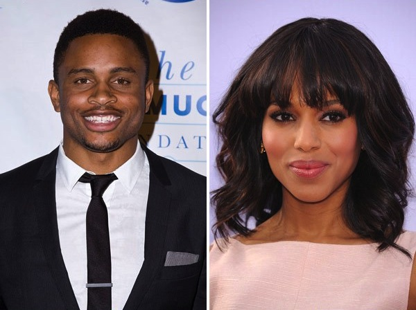 13 nnamdi asomugha (49ers) and kerry washington - athlete celebrity couples