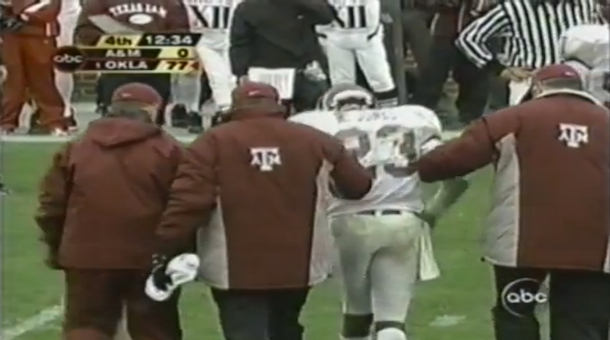 13 oklahoma texas a&m 2003- biggest blowouts college football history