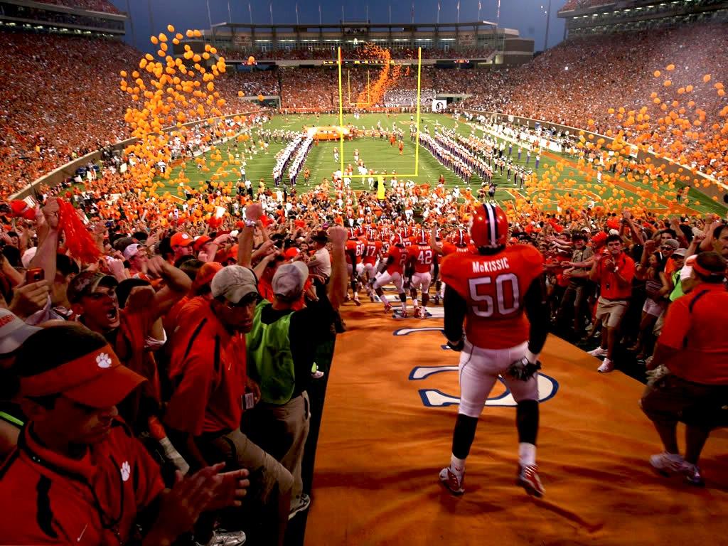 16 memorial stadium (clemson) - best college football stadiums