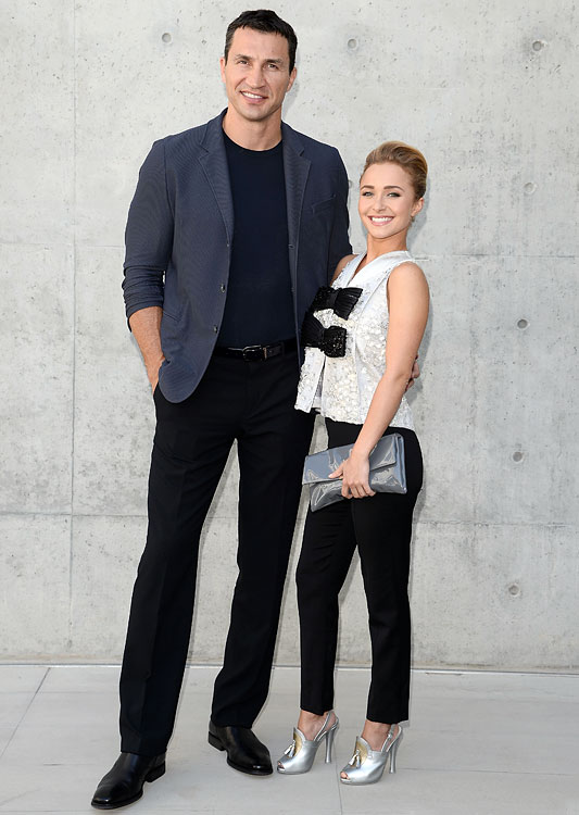 17 wladimir klitschko (boxer) and hayden panettiere - athlete celebrity couples