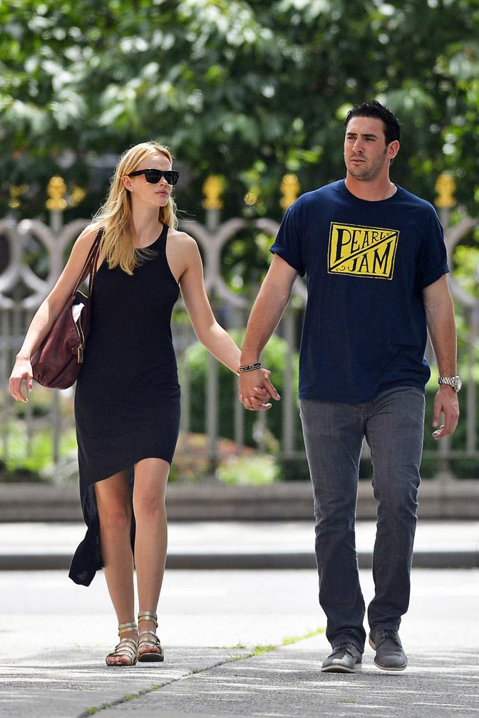 18 matt harvey (mets) and ann v (si swimsuit model) - athlete celebrity couples