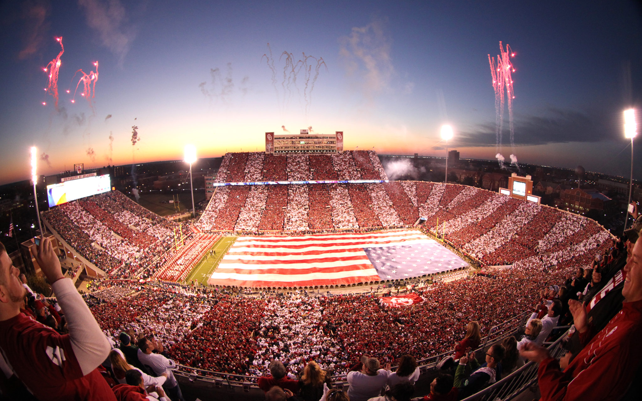 19 gaylord family memorial stadium (oklahoma) - best college football stadiums