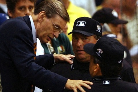 2 bud selig all-star game tie - bud selig worst moments