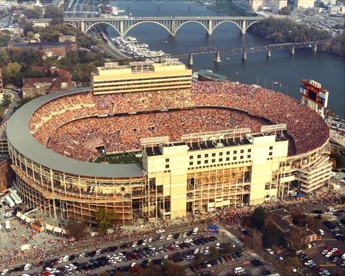 2 neyland-stadium-tennessee - best college football stadiums