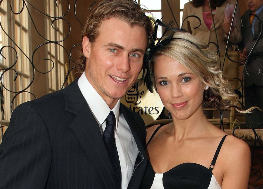 20 lleyton hewitt (tennis) and bed cartwright (actress) - athlete celebrity couples