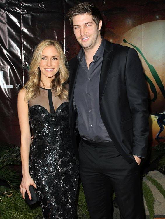 21 jay cutler (bears) and kristin cavallari (the hills) - athlete celebrity couples