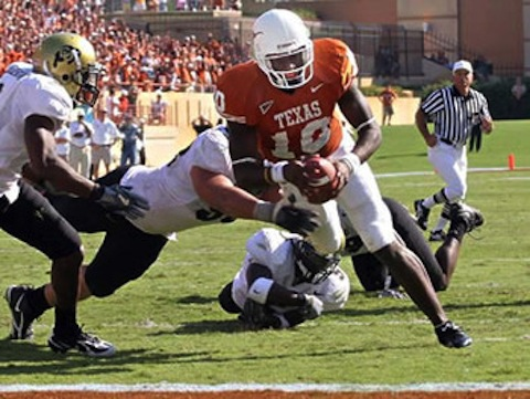 22 texas colorado 2005 - biggest blowouts college football history