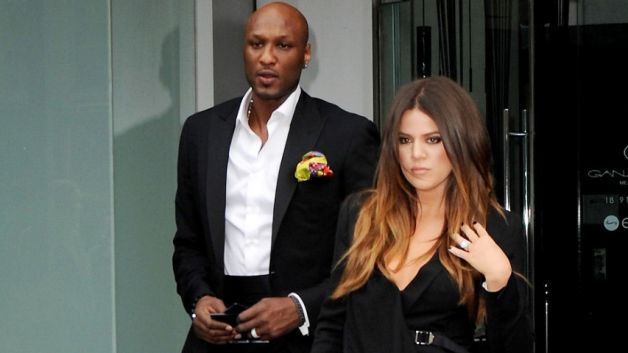 24 lamar odom and khloe kardashian - athlete celebrity couples