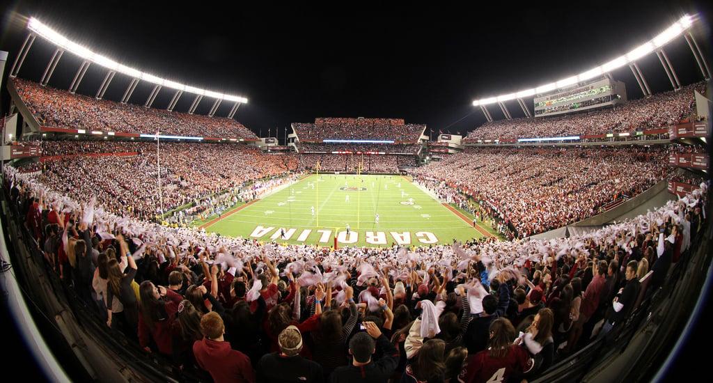 24 williams brice stadium (south carolina) - best college football stadiums