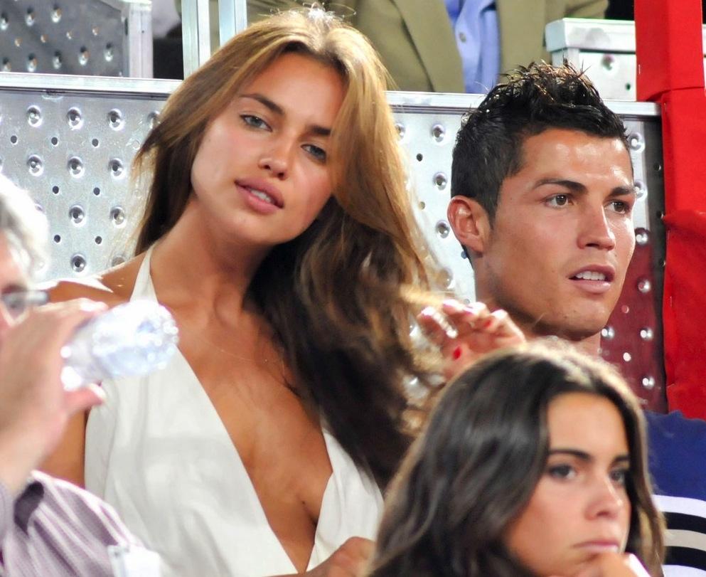 25 Athlete-Celebrity Power Couples | Total Pro Sports Irina Shayk And Cristiano Ronaldo 2013