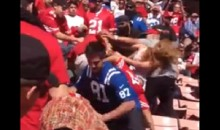Fans Brawl During 49ers-Colts Game (Video)