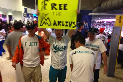 5 marlins fans ejected from home opener - bud selig worst moments