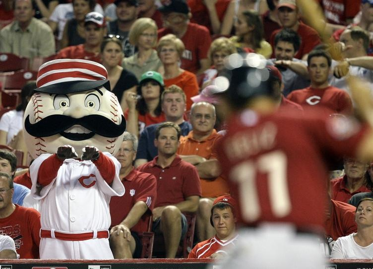 5 mr redlegs mascot - disturbing mlb mascots