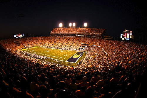 6 death valley (lsu) - best college football stadiums