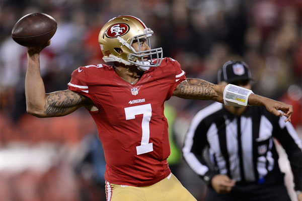 7 colin kaepernick - nfl week 1 surprises