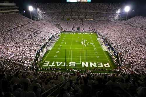 8 beaver stadium (penn state) - best college football stadiums