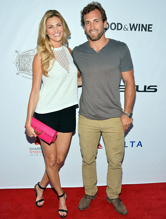 8 jarret stoll (l.a. kings) and erin andrews - athlete celebrity couples