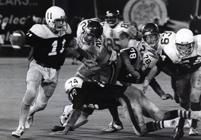 8 portland state delaware state 1980 - biggest blowouts college football history