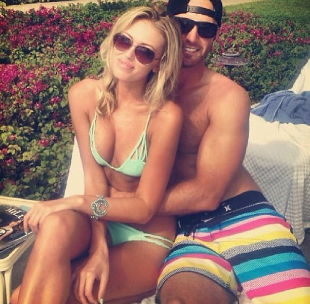 9 dustin johnson (golf) and paulina gretzky - athlete celebrity couples