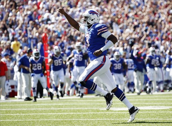 9 ej manuel debut near upset over pats - nfl week 1 surprises