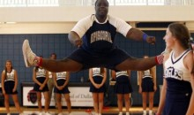 335-Pound High School Football Player Performs With Cheerleaders At Halftime (Video)
