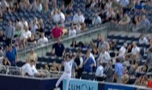 Yankees' Ball Boy Makes Impressive Catch (Video)