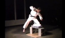 Man Sets Arm On Fire For Karate Stunt (Video)