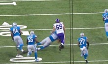 Ndamukong Suh Already Facing NFL Discipline for Dirty Hit (GIF)
