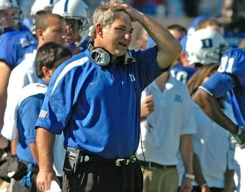 Ted Roof Duke coach - worst college football coaching hires of BCS era