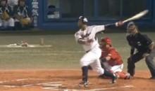 Wladimir Balentien Ties Japanese Baseball's Single-Season Home Run Record (Video)