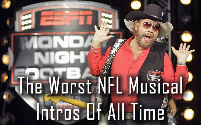 Worst NFL Musical Intros