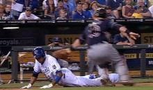 Alcides Escobar Uses Some Slick Moves to Avoid the Tag During a Rundown (Video)