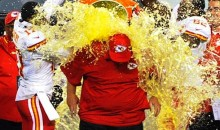 After Getting His Revenge on the Eagles, Andy Reid Got a Gatorade Shower from the Chiefs (GIF)