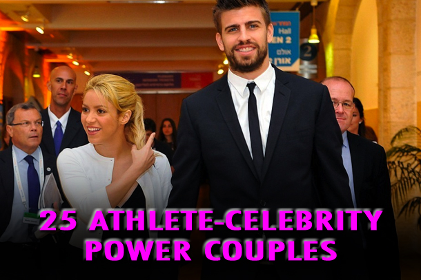 athlete celebrity couples