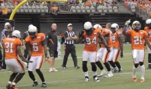 BC Lions Bust Out Some Excellent Dance Moves During a Video Review (Video)
