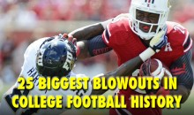 The 25 Biggest Blowouts in College Football History