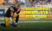 11 Biggest Surprises from Week 1 of the 2013 NFL Season
