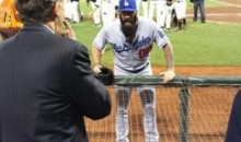 Crazy Brian Wilson Confronts Giants' Team President, Demands World Series Ring (Video)